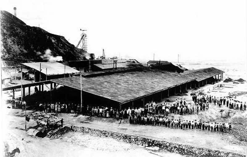 1920. Mina Roma desde Cabezo Rajao