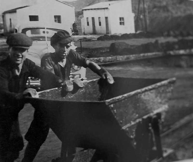 1950. Lavadero de la Paz. Llano del Beal