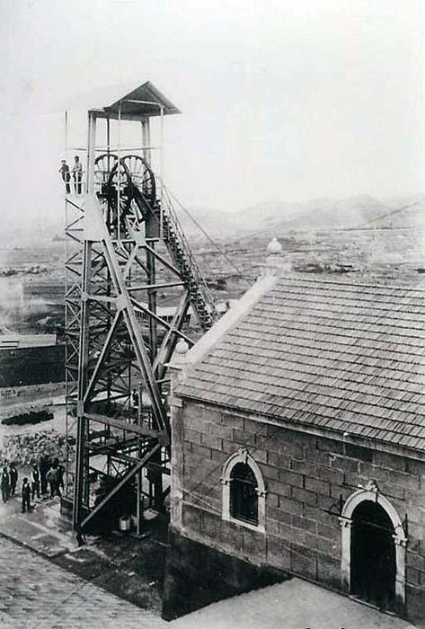 1910. Mina Montserrat