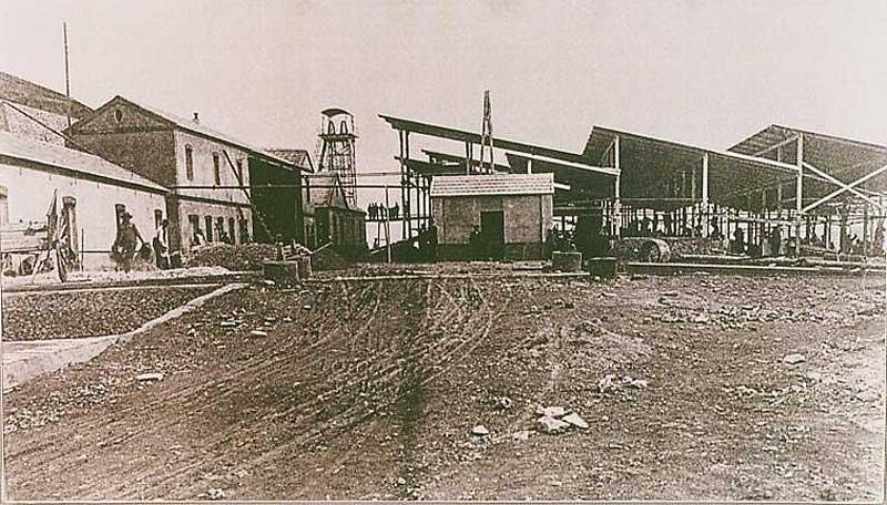 1910. Mina San Isidro